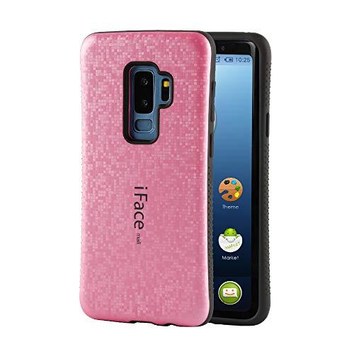 有益な初心者コンセンサス【Bidear】iFace mall モザイク版 Samsung Galaxy S9 Plus ケース 携帯ケース スマホケース 全面保護 耐衝撃 カバーアイフェイスモール モザイク様式 指紋防止 ピンク