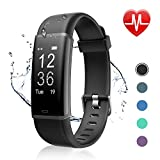Letsfit Fitness Tracker, Activity Tracker Watch with HR Monitor, Step Counter, Pedometer Watch