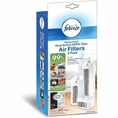 Febreze Replacement Filter U, 2 Pack, FRF102B