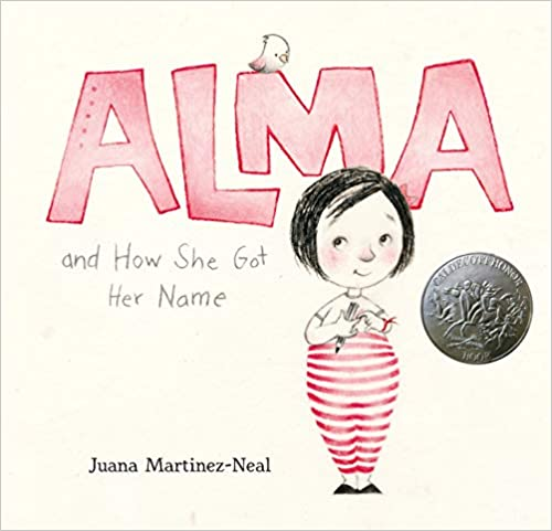 cover image, Alma and How She Got Her Name