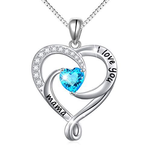 Mother's Day Gift 925 Sterling Silver Jewelry Engraved
