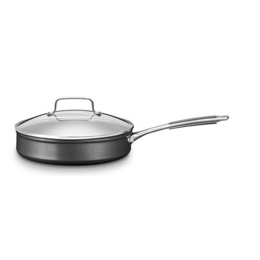 Kitchenaid kc2h130elkd Sartén, Aluminio, 30 x 30 x 6 cm, Color Negro/Plata: Amazon.es: Hogar