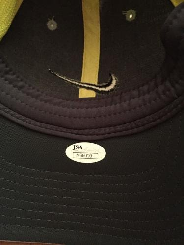 Rory McIlroy Autograph Nike Golf Hat. Signed JSA Certified Autographed Golf Hats and Visors