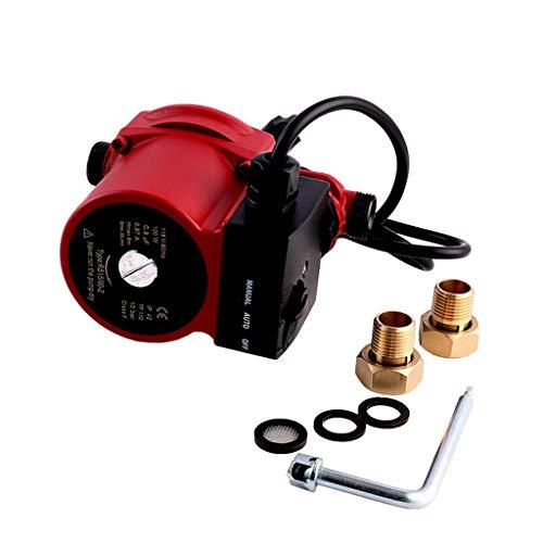 SHYLIYU 115V 3/4 inch Outlet Cast Iron Pressure Booster Pump Hot Water Automatic Recirculating Pump Cast Iron Circulator Pump