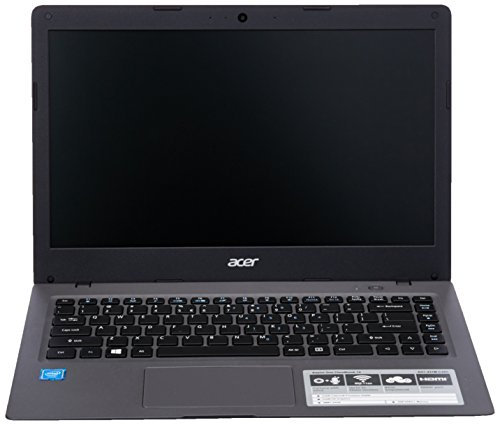 Acer Aspire One Cloudbook Celeron 14 inch eMMC Black