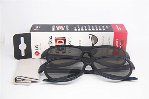 olarized Passive Glasses for Lg Cinema Ag-f310 (Pack of 4) ()
