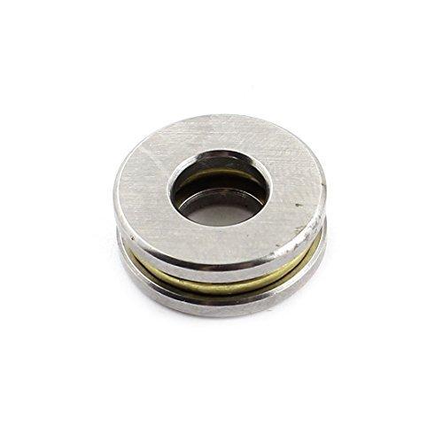 Metallo sigillata sfera spinta assiale del cuscinetto d'argento 20 millimetri tono x 9 millimetri x 7mm DealMux DLM-B00UBYSI0Y