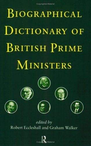 Download Biographical Dictionary of British Prime Ministers Pdf