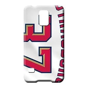 Samsung Galaxy S5plástico teléfono celular Funda Cubre Casos protector para teléfono Popular Washington Nationals MLB béisbol
