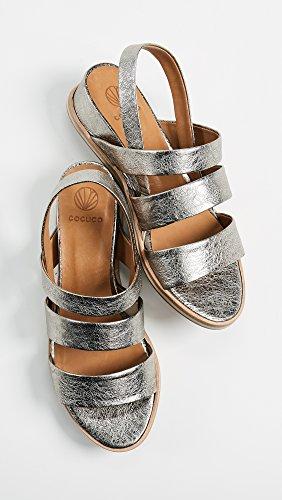 Coclico Chaussures Femmes Koi Sandales Métalliques