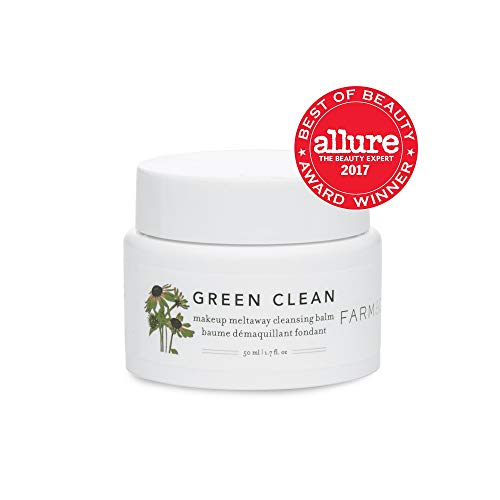 Farmacy Green Clean Makeup Meltaway Cleansing Balm - Natural Makeup Remover 1.7 fl oz / 50 m ()