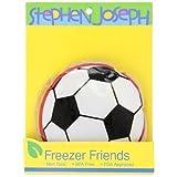 Stephen Joseph Freezer Friends Lunch Box, Soccer, Black