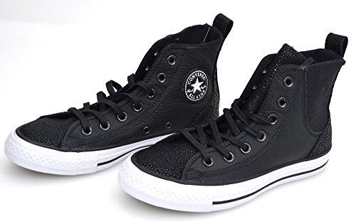 O Donna Converse Nedro Black 555171c Art Scarpa Nero 555170c Sneaker Bianco aHw1wIq
