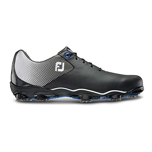 FootJoy Men's D.N.A. Helix-Previous Season Style Golf Shoes Black 9.5 M US