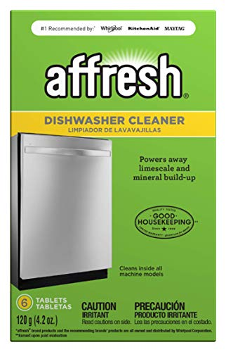 Affresh W10549851 Dishwasher Cleaner 6 Tablets in Carton Original Version, pack of 1 (Sparkling Natural Clean)