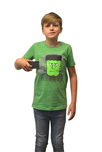 Morphsuits Moving Eyes Frankie Frankenstein T-Shirt, Large (Age 10 - 11), One Color - Big Frank Costumes