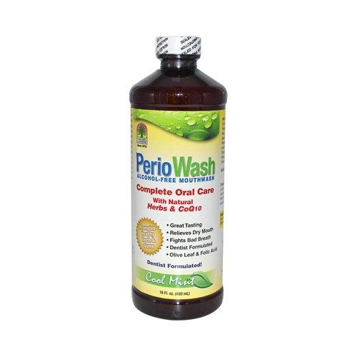 (W2B - Natures Answer PerioWash Mouthwash Alcohol-Free Cool Mint - 16 fl oz)
