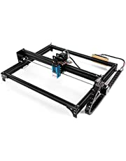 Genmitsu LE5040 CNC Laser Engraver Machine with 5500mw Laser Module for Carving Cutting Engraving & DIY Logo Picture Marking, 2-Axis XY Working Area 50 x 40cm