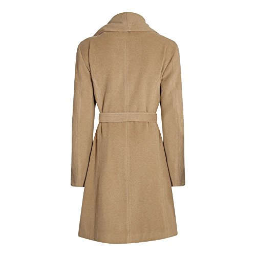 Wool Womens Belted Anastasia Wrap Winter Cashmere Collar Chameau Large Coat BIqUI