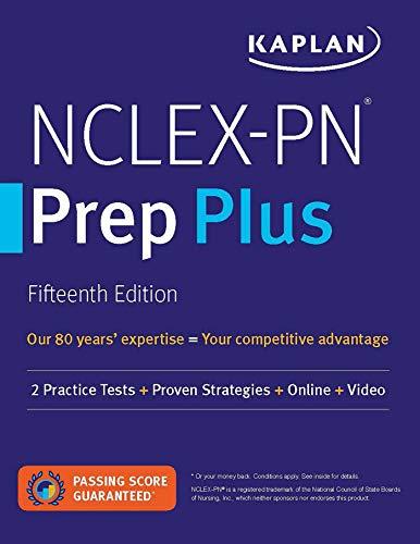 NCLEX-PN Prep Plus: 2 Practice Tests + Proven