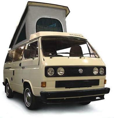3 ventanas, compatible con VW T25 T3 Transporter 86-92 Lienzo para techo Just Kampers Westfalia