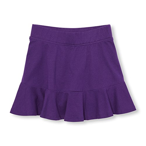 The Children's Place Big Girls' Skort, Full Violet 97625, XXL(16)