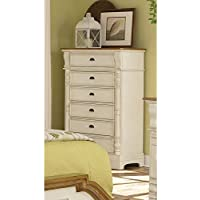 Coaster Home Furnishings Country Chest, Oak and Buttermilk