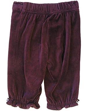 Baby Girl Plumb Velvet Pants 3-6 Months