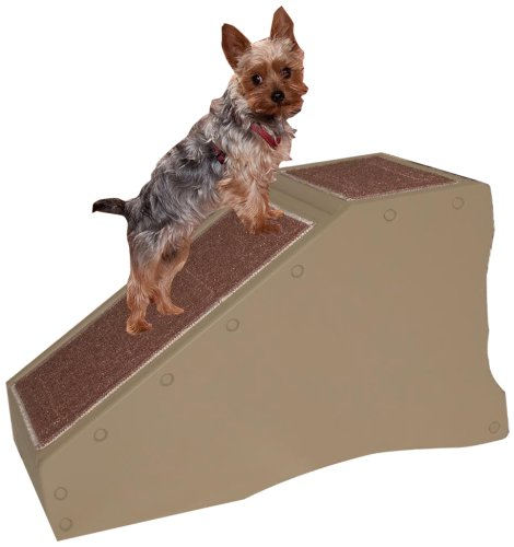 Pet Gear Pet Stair/Ramp for Cats and Dogs, Tan, My Pet Supplies
