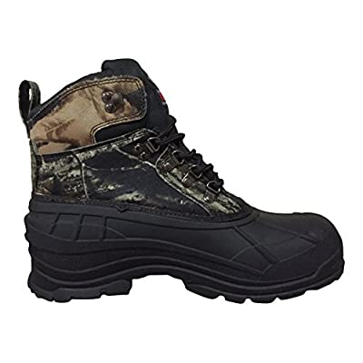 YC-02s Climate X Mens Snow Hunting Boots (12 D(M) US, Camouflage/Black-1) | Snow Boots