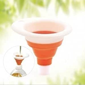 Collapsable Silicone Funnel
