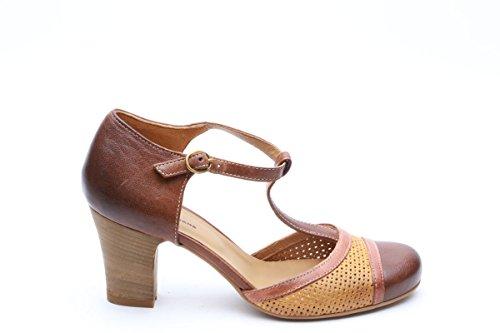 Scarpe italiane charleston marrone