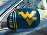 Fanmats West Virginia University Small Mirror Cover Size=5.5''x8'' NCAA-12009