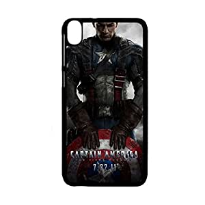 Generic Custom Design With Captain America Abs Back Phone Cover For Man For Htc D820 Choose Design 9