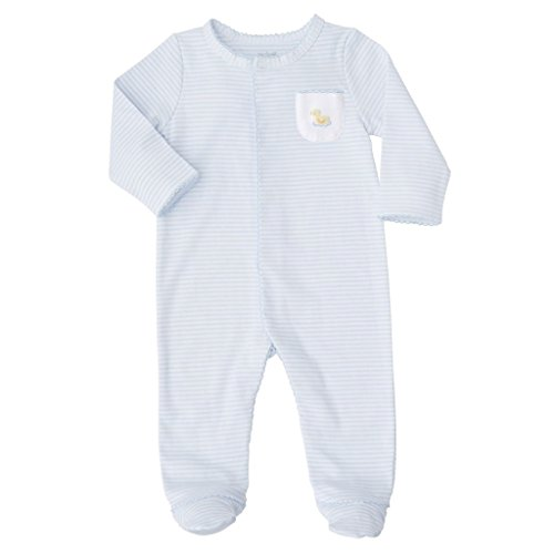 Mud Pie Baby Infant Duck Footed Long Sleeve Sleeper, Yellow, 0-3 Months -