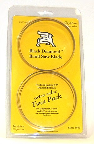 Gryphon Black Diamond Blade Twin Pack for C40 Bandsaw