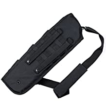 Tactical Shotgun Rifle Scabbard Sheath With Molle Webbing Fit for Barrel Under 14''