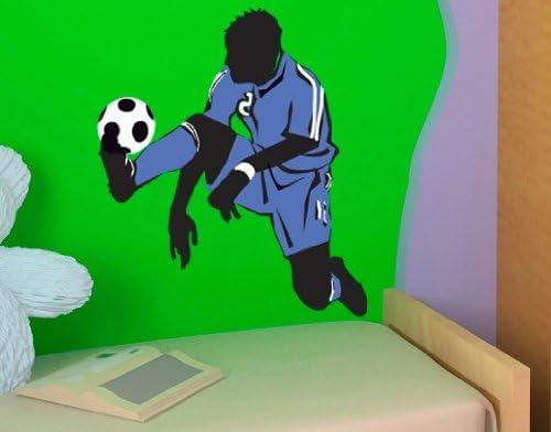 Pegatina de Pared nº UL616 Control de balón de fútbol, Tatuaje de ...