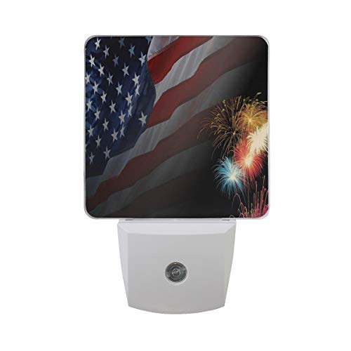 Night Light Great Independence Day Led Light Lamp for Hallway, Kitchen, Bathroom, Bedroom, Stairs, DaylightWhite, Bedroom, Compact