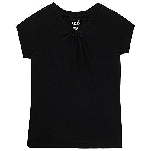 French Toast Sleeve V Neck T Shirt product image