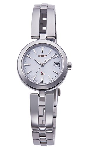 ORIENT iO Io NATURAL and PLAIN LIGHT CHARGE watch RN-WG0001S Ladies