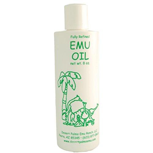 Emu Oil: 8 Ounce bottle