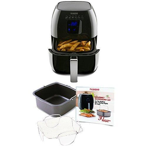 Nuwave Brio Healthy Digital Air Fryer and Accessory Pack