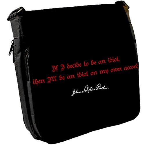 Se Decido - Johann Sebastian Bach Borsa A Tracolla Unisex