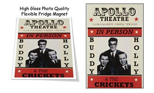 - Buddy Holly Apollo Theatre 1957 Concert Poster 3