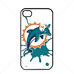 NFL American football Miami Dolphins Fans Case For Iphone 5/5S Cover PC Soft (Black)