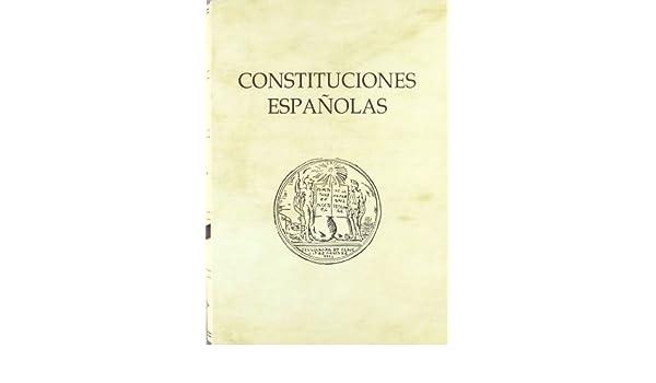 Constituciones Españolas (Textos Históricos): Amazon.es: Congreso ...