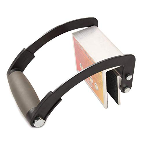Plywood and Sheetrock Panel Carrier, 0 to 1 1/8', Heavy Duty Metal Gripper, Sheet Goods Carry Handle (plywood thickness 0-22 mm)