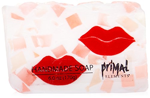 - Primal Elements Bar Soap in Shrinkwrap, Smooches, 6 Ounce