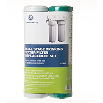 Ge Fxsvc Dual Stage Drinking Water Filtration System